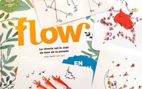 Flow Magazine: des cartes postales
