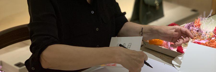 Animation pour Louis Vuitton au Bon Marché